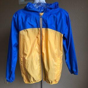 Boy's Lands' End rain jacket size 10/12